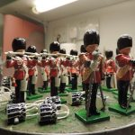 54mm Toy Soldiers Scots Guards Gloss Painted