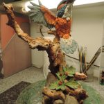 Country Artists Resin Kingfisher on Branch Figurine