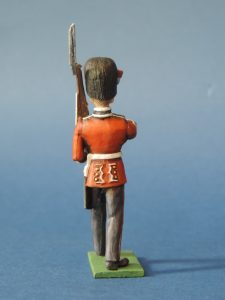 54mm Metal Cast Toy Soldier. Scots Guards Fusilier