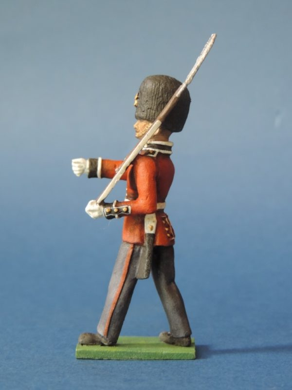 54mm Metal Cast Toy Soldier. Scots Guards Fusilier