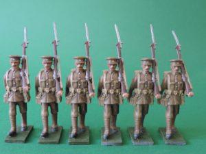 54mm World War 1 Metal Toy Soldiers