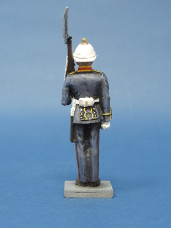 54mm Metal Cast Toy Soldier. Royal Marine Standing