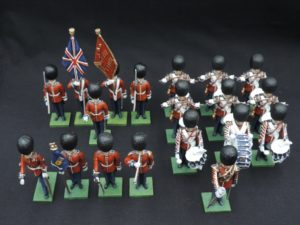 54mm Scots Guards Metal Toy Soldiers