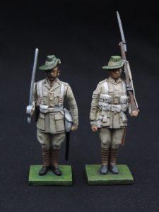 54mm Metal Cast World War 2 Toy Soldier.