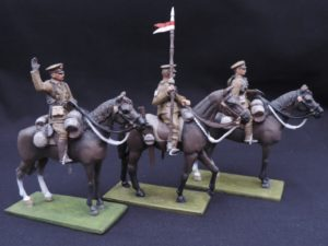 54mm Mounted World War 1 Metal Toy Soldiers