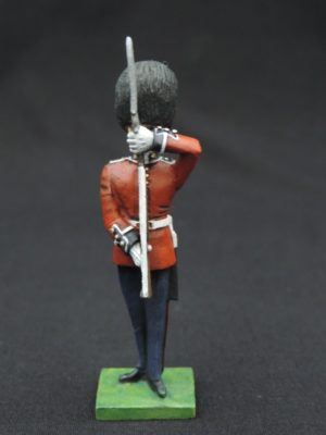 54mm Metal Cast Toy Soldier. Scots Guards At Present