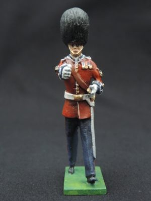 54mm Metal Cast Toy Soldier. Scots Guards Baton