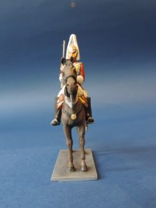 54mm Metal Cast Toy Soldier. Mounted Lifeguard Officer