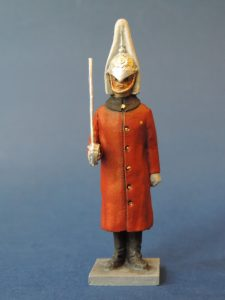 54mm Metal Cast Toy Soldier. Lifeguard At Attention