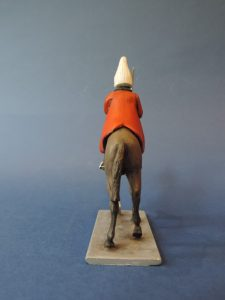 54mm Metal Cast Toy Soldier. Mounted Lifeguard Trooper