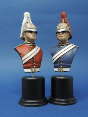 Hand Painted 100mm Military Busts Produced By Loggerheads Military Studio