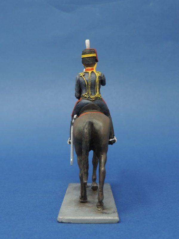 54mm Metal Cast Toy Soldier. Mounted Royal Horse Artillery Bugler