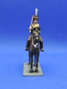 54mm Metal Cast Toy Soldier. Mounted Royal Horse Artillery Officer