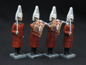 54mm Metal Cast Lifeguard Toy Soldier.