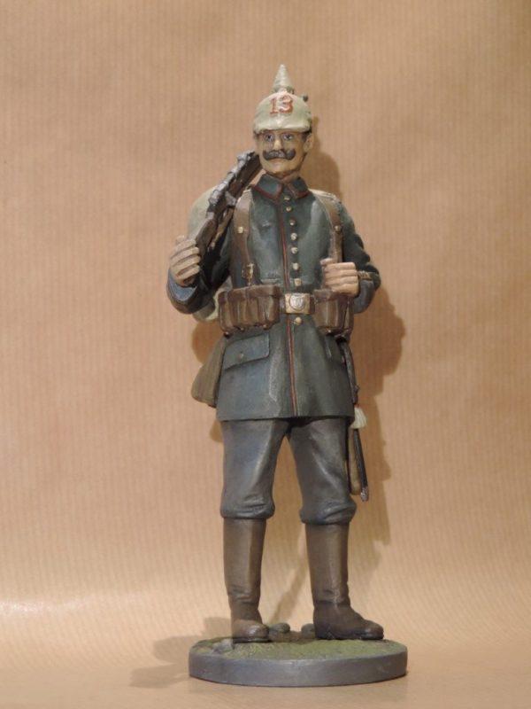 Hand Painted 120mm Resin Military Figure German Infantryman 1914 Produced By Loggerheads Military Studio