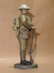 Hand Painted 120mm Resin Military Figure British Infantryman 1916 Produced By Loggerheads Military Studio