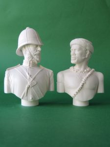 Unpainted Resin Military Busts Produced By Loggerheads Military Studio