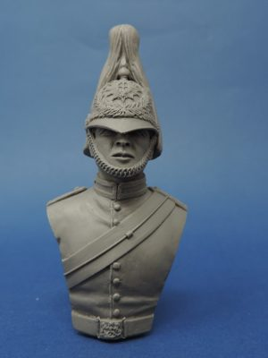 Unpainted 100mm Horse Guards Resin Military Bust Produced By Loggerheads Military Studio