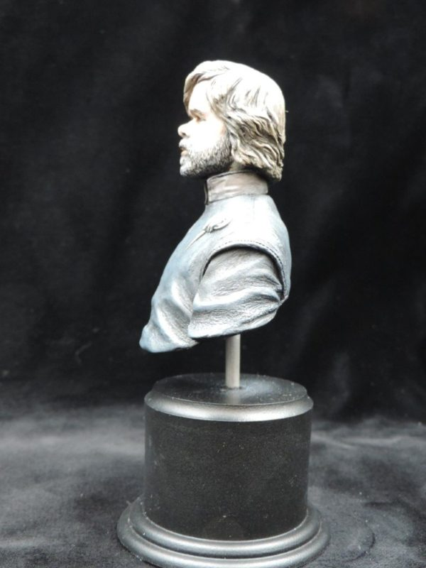 Hand Painted 80mm Game Of Thrones Tyrion Lanister Military Bust Produced By Loggerheads Military Studio
