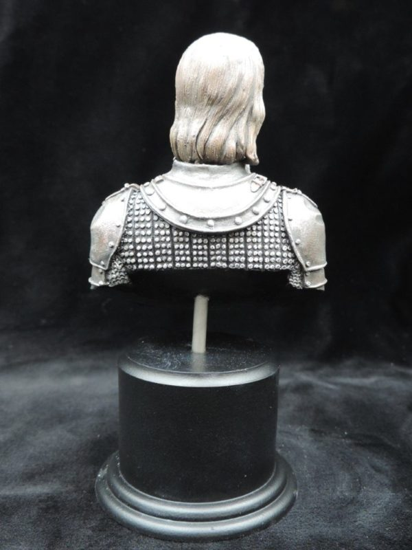 Hand Painted 80mm Game Of Thrones Sandor Clegane Military Bust Produced By Loggerheads Military Studio