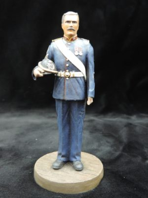Hand Painted 90mm Metal Cast Military Figure Sergeant Royal Artillery 1904 Produced By Loggerheads Military Studio