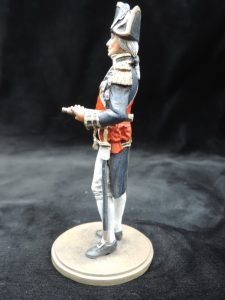 Hand Painted 80mm Metal Cast Military Figure Lord Horatio Nelson Produced By Loggerheads Military Studio
