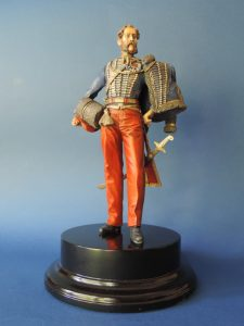 Commission Hand Painted 200mm Resin Military Figure Lieutenant Colonel Douglas 11th Hussar Produced By Loggerheads Military Studio
