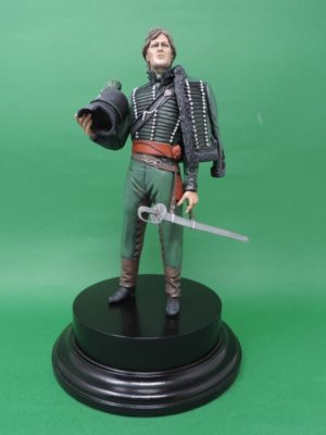 Commission Hand Painted 200mm Resin Military Figure Officer 95th Rifles Waterloo Produced By Loggerheads Military Studio