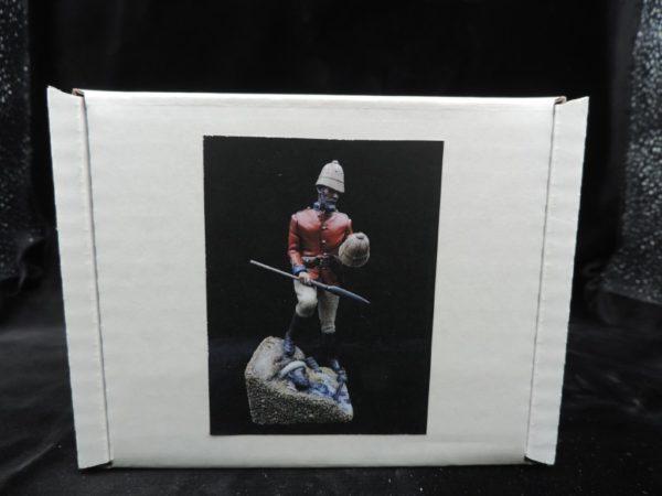 Unpainted Kit 150mm Resin Military Figure British Empire Lieutenant Chard Produced By Loggerheads Military Studio