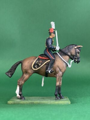 54mm Metal Cast Toy Soldier. Mounted RHA Officer Limited Edition