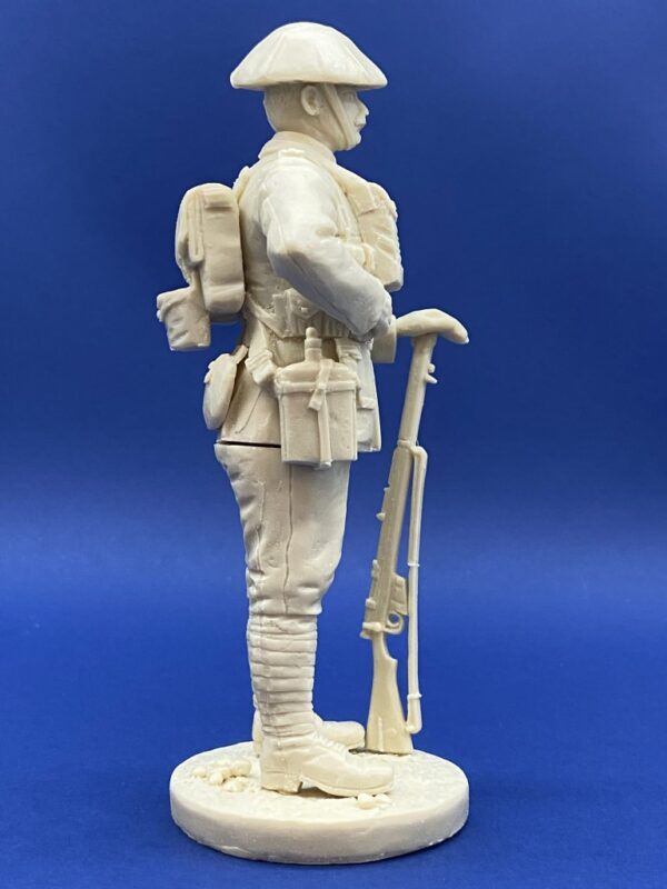 Unpainted Kit 120mm Resin Military Figure British Infantry 1916 Produced By Loggerheads Military Studio