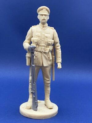 Unpainted Kit 120mm Resin Military Figure British Infantry 1914 Produced By Loggerheads Military Studio