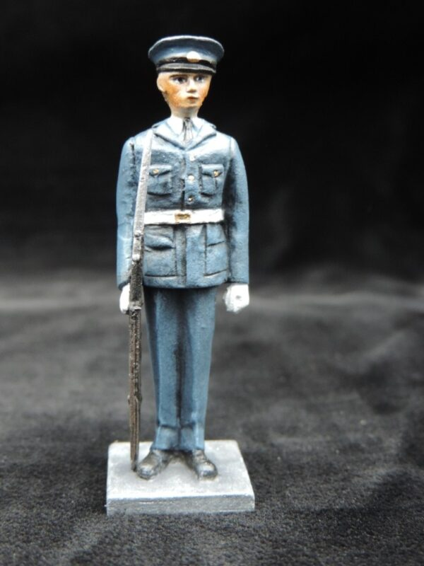 54mm Metal Cast Toy Soldier. RAF Standing