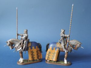 Mounted Knight With Personalised Coat Of Arms