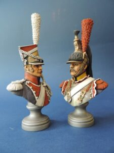 Polish Lancer and French Cavalry
