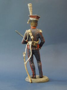 French Lancer Of The Guard 1810